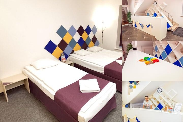 Mosaic Hotel photo collage