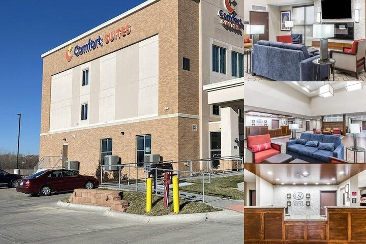 Comfort Suites West Omaha photo collage