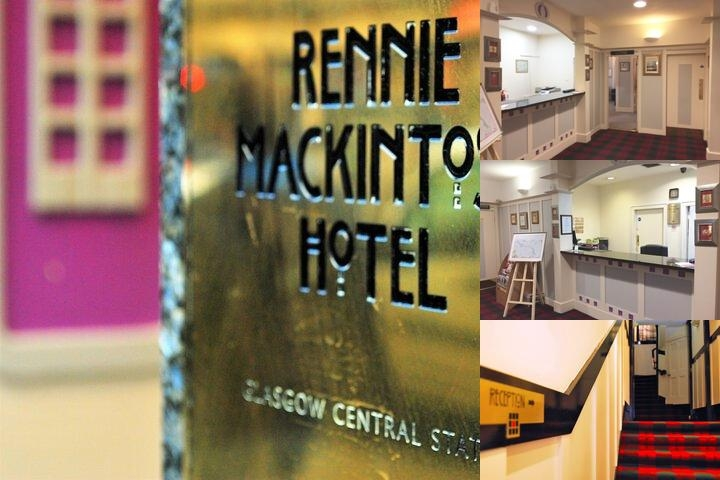 Rennie Mackintosh Central photo collage