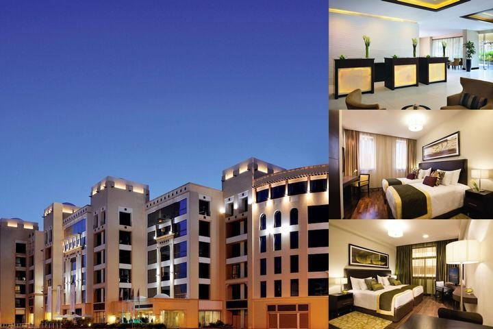 Moevenpick Hotel Apartments Al Mamzar photo collage