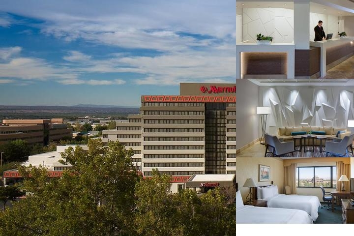 Albuquerque Marriott Pyramid North photo collage