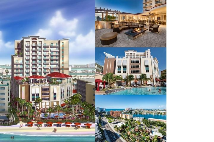 Hampton Inn & Suites Clearwater Beach photo collage