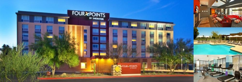 Four Points by Sheraton at Phoenix Mesa Gateway Ai photo collage