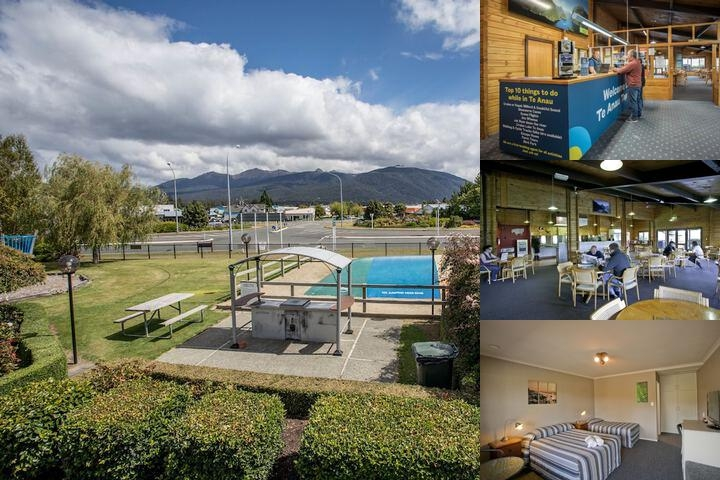 Te Anau Kiwi Holiday Park photo collage