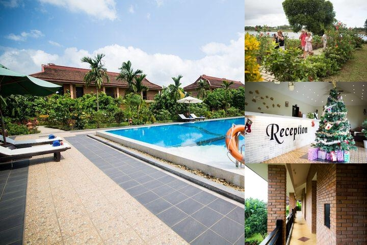 Hue Riverside Boutique Resort & Spa photo collage