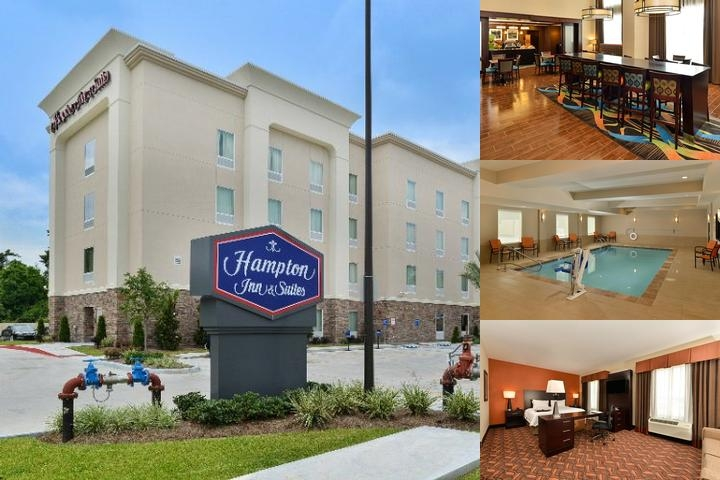 Hampton Inn & Suites Harvey photo collage