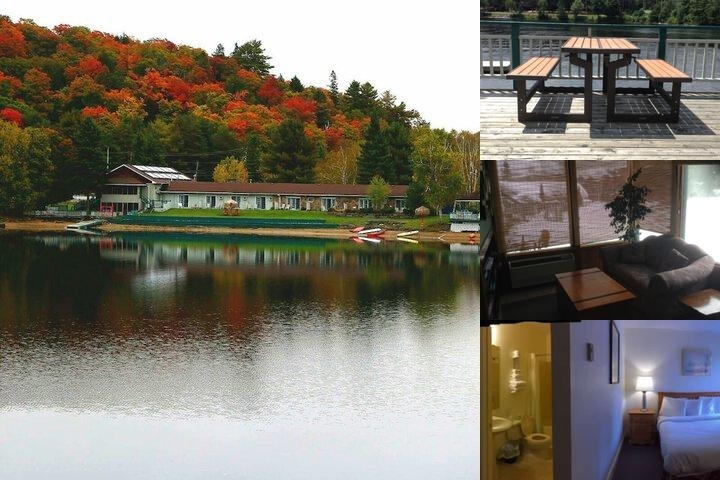Algonquin Lakeside Inn photo collage