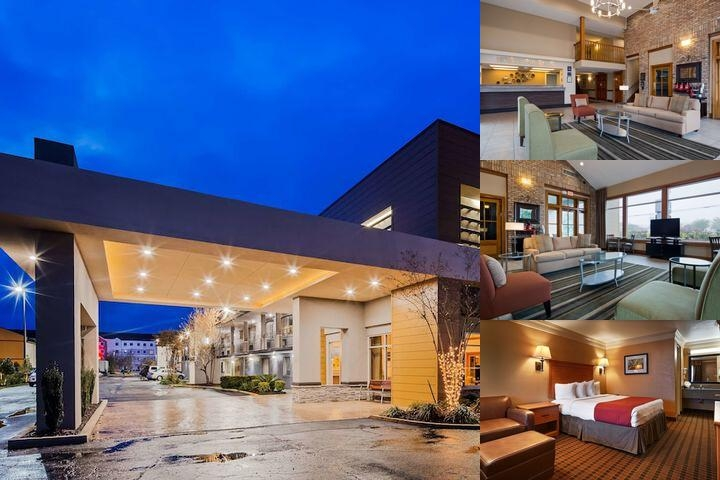 Best Western Northpark Inn Covington photo collage