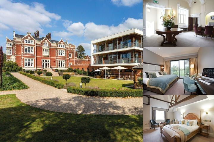 Wivenhoe House Hotel photo collage