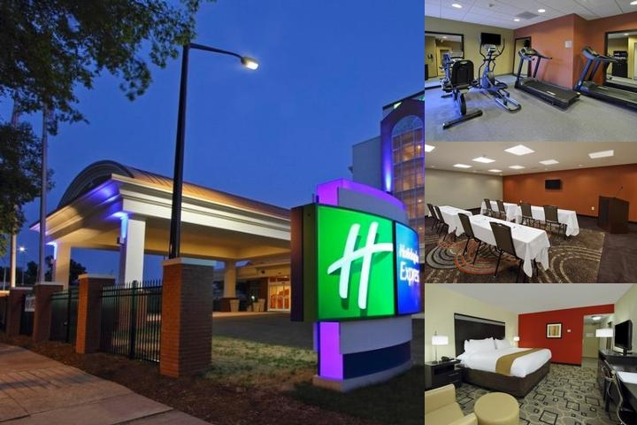 Holiday Inn Express Augusta Downtown Medical Distr photo collage
