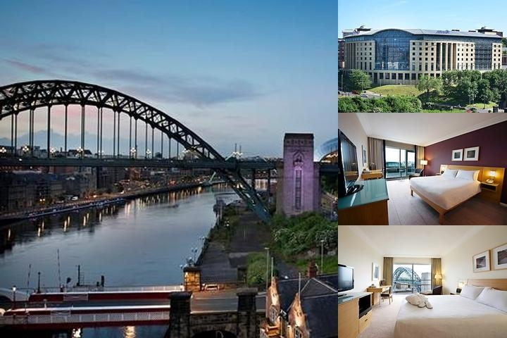 Hilton Newcastle Gateshead photo collage