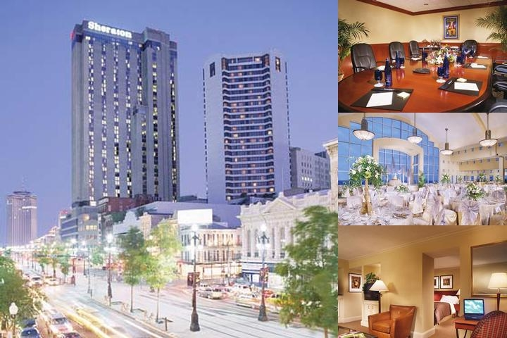 Sheraton New Orleans Hotel photo collage