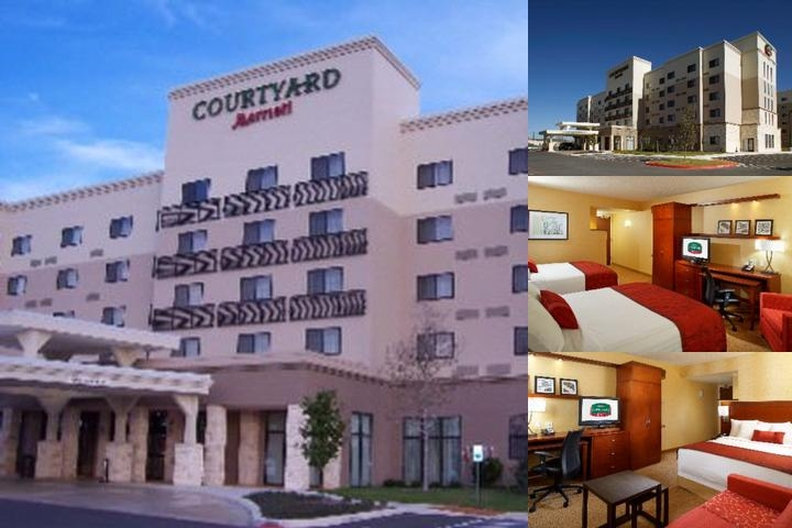 Courtyard by Marriott San Antonio Six Flags at The photo collage
