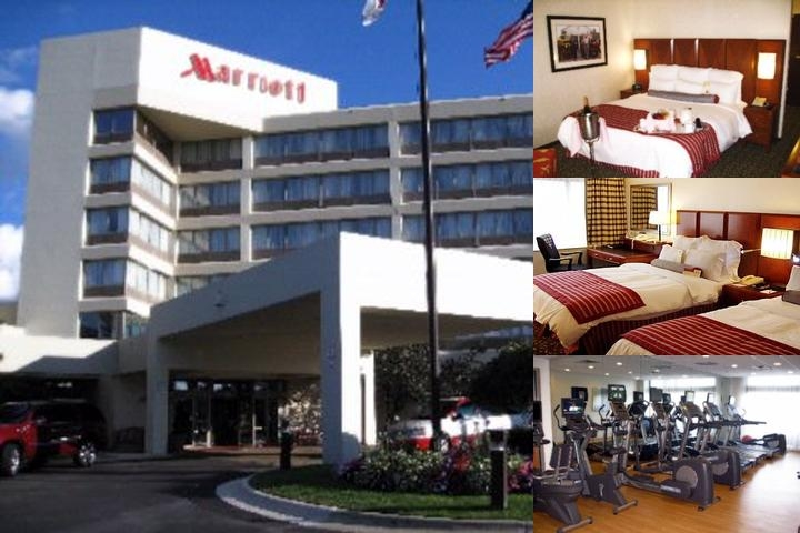 Detroit Marriott photo collage