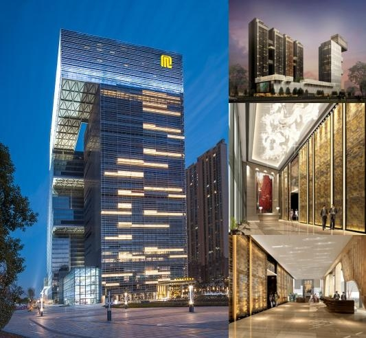 Regal Financial Center Hotel photo collage