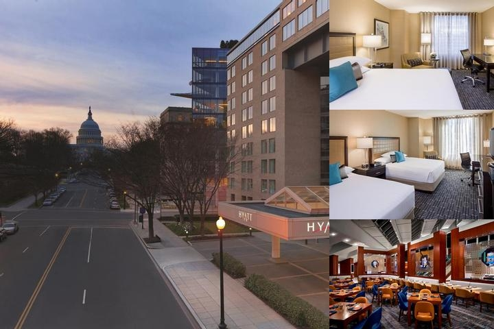 Hyatt Regency Washington photo collage