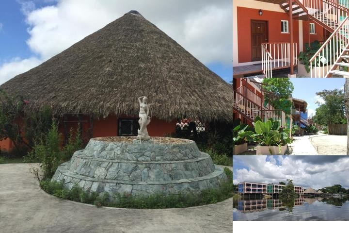 Lamanai Landings Hotel & Marina photo collage