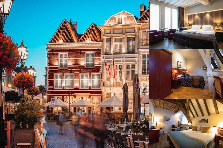 Grand Hotel De Draak photo collage