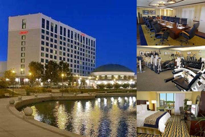 Newport News Marriott at City Center photo collage