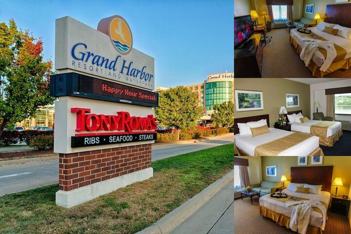 Grand Harbor Resort & Waterpark photo collage