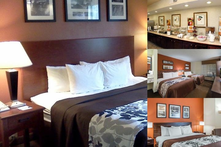 Sleep Inn Airport photo collage