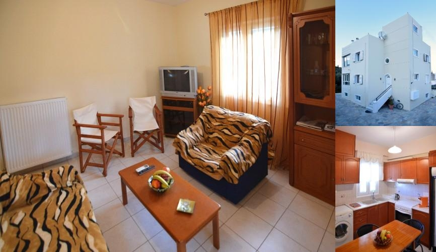 Dimitra Apartment Zakros Crete photo collage