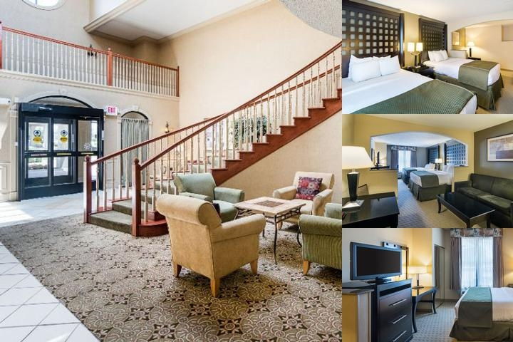 Quality Suites Sherman photo collage