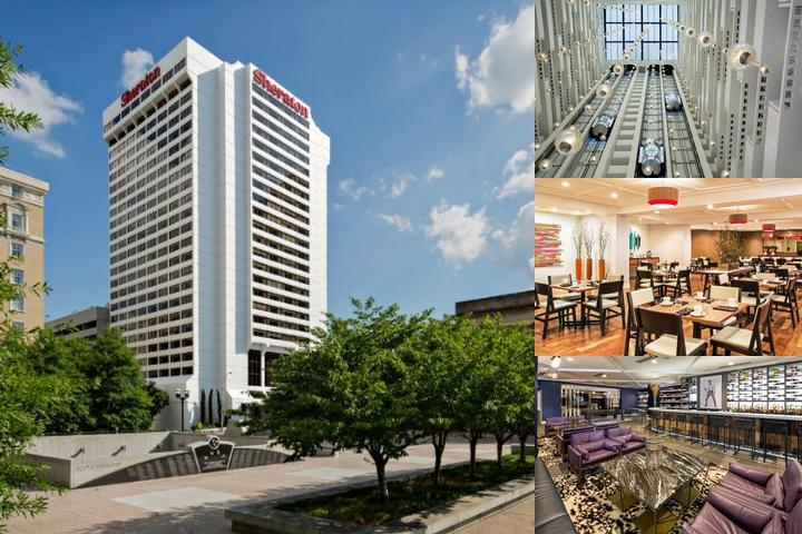 Sheraton Grand Nashville Downtown photo collage