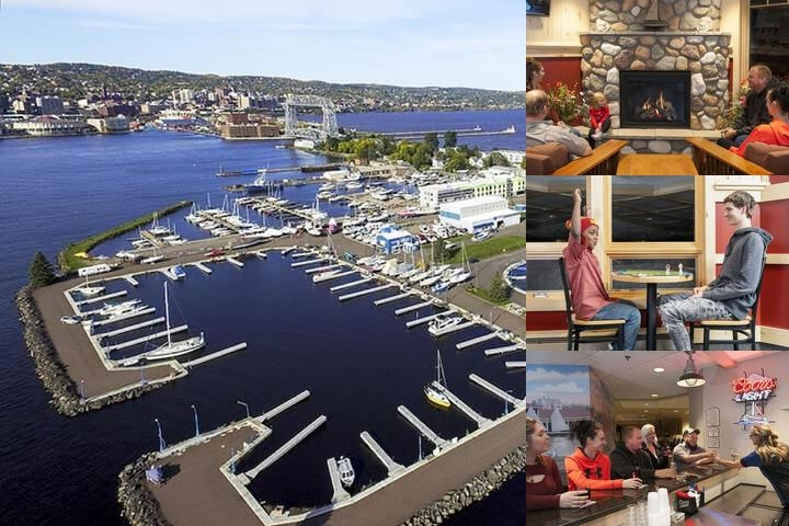 Park Point Marina Inn photo collage