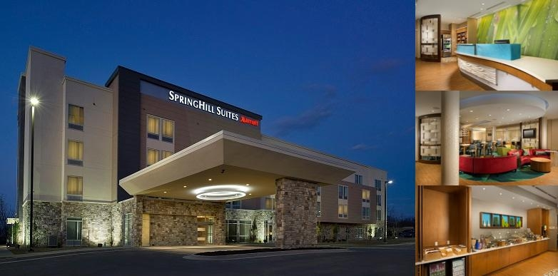 Springhill Suites by Marriott Bridgeportclarksburg photo collage