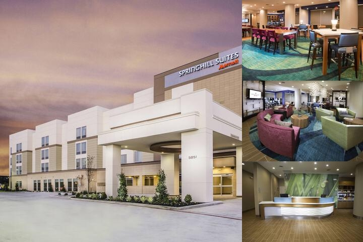 Springhill Suites by Marriott Houston Westchase photo collage