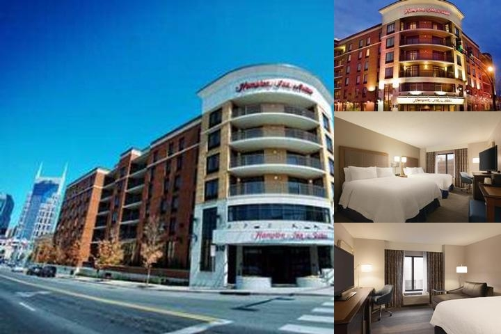 Hampton Inn & Suites Downtown Nashville photo collage