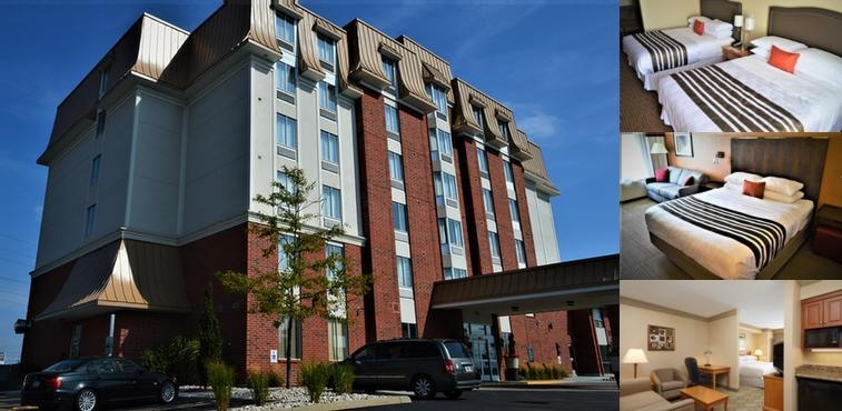 Best Western Plus Waterloo photo collage
