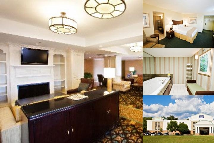 Holiday Inn Express Airport Plainfield photo collage