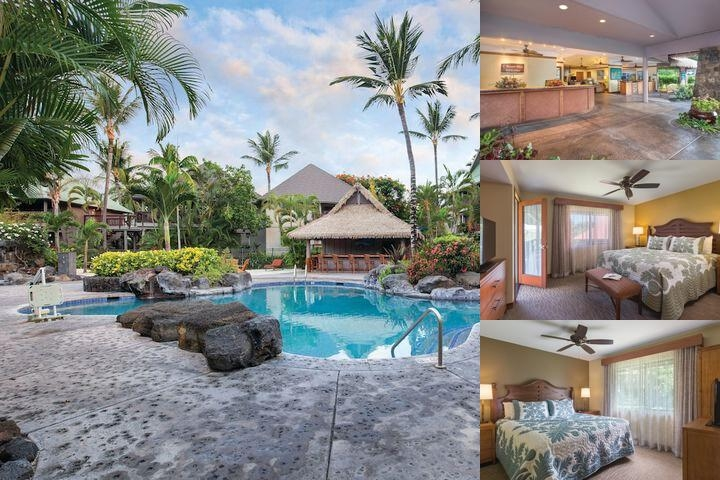 Kona Hawaiian Resort photo collage