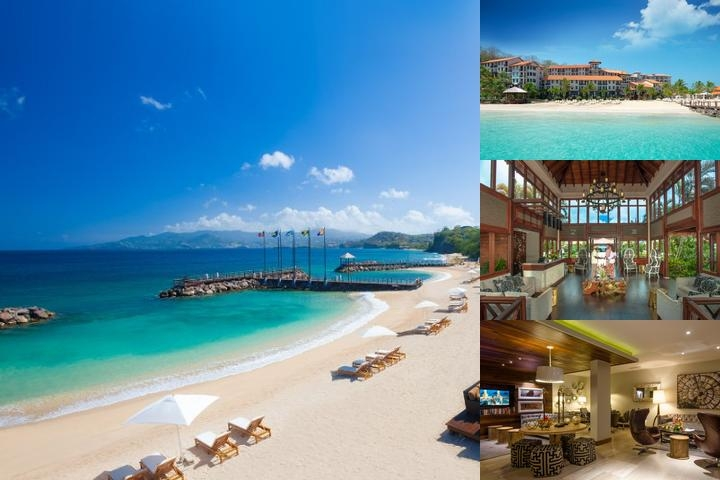 Sandals Lesource Grenada Resort & Spa photo collage