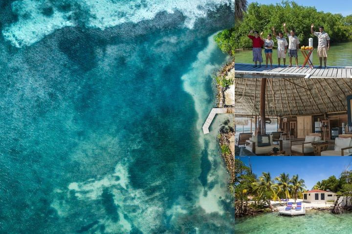 Royal Belize photo collage