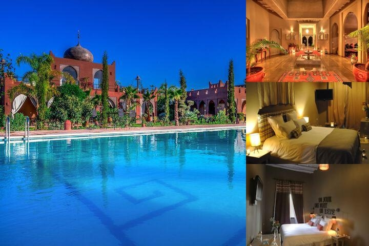 Kasbah Igoudar Boutique Hotel & Spa photo collage