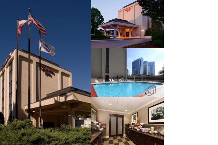 Hampton by Hilton Atlanta Buckhead photo collage