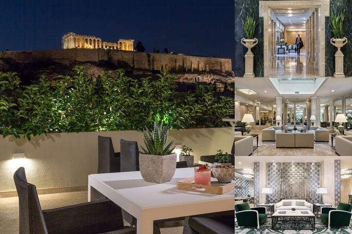 Divani Palace Acropolis photo collage