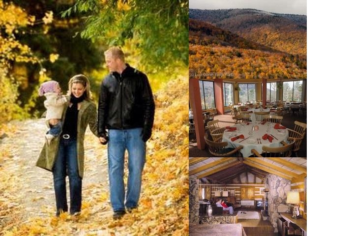 Scribner's Catskill Lodge photo collage