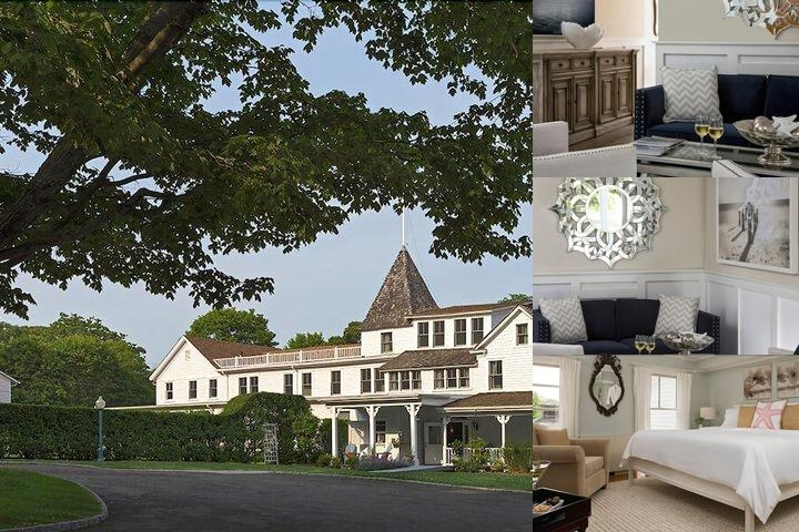 Shelter Island House photo collage