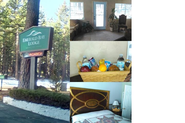 Emerald Bay Lodge photo collage