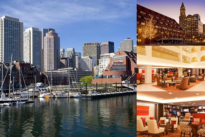 Boston Marriott Long Wharf photo collage