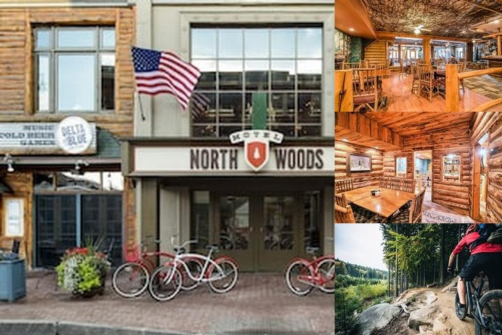 Hotel North Woods photo collage