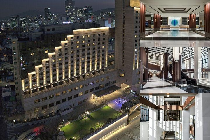The Ritz Carlton Seoul photo collage