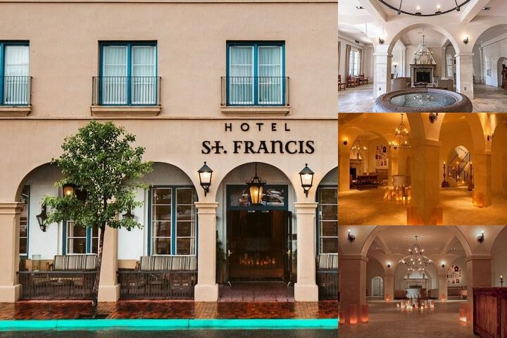 Hotel St. Francis photo collage