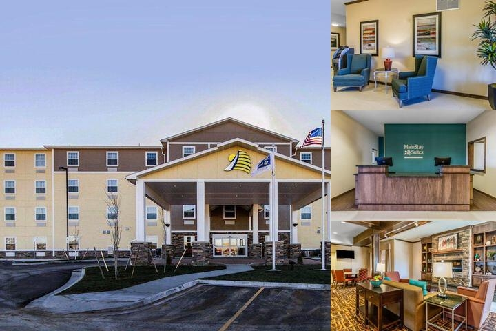 Main Stay Suites photo collage