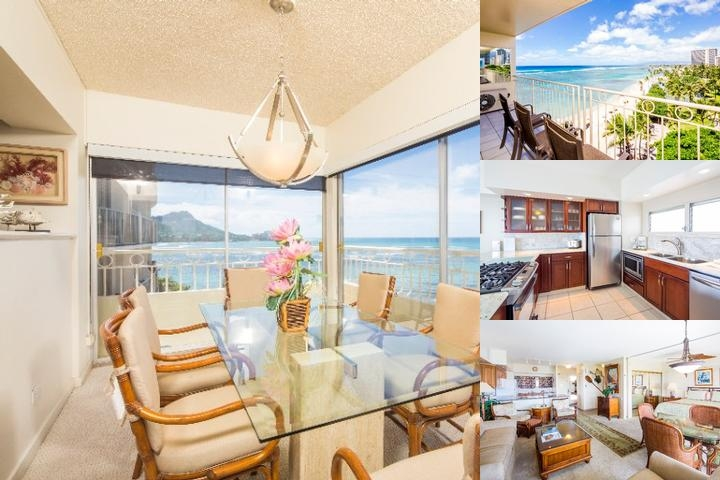 Waikiki Shore by Castle photo collage