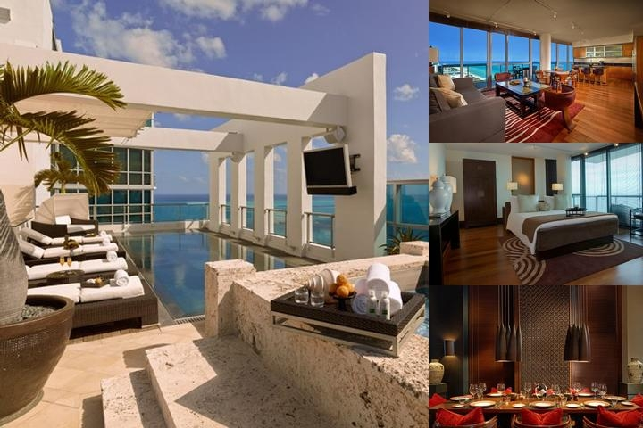 The Setai Miami Beach photo collage